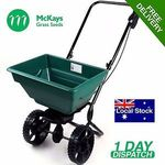 Push Grass Seed and/or Fertiliser Spreader - $80.66 Delivered from McKays Grass Seeds on eBay