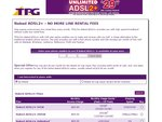 TPG Naked ADSL2+ - Unlimited Plan for $69.99 Per Month