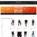 The Iconic 2 Hour Flash Sale - 40% off 2XU Compression Styles