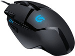Logitech G402 Hyperion Fury Gaming Mouse $47.00 @ EB Games ($44.65 Pricematch @ Officeworks)
