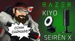 Win a Razer Seiren X Microphone  or a Razer Kiyo Microphone from CohhCarnage