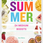 [QLD] $4 Medium Boost Juices @ All QLD Stores - Mon 4th, Tue 5th, Wed 6th Only