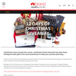 Win a 12 Days of Christmas Prize Pack Worth > $1,400 from Brand South Australia (Must Collect from Adelaide CBD)