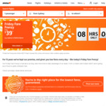 Friday Fare Frenzy - One Way Flights from $39 Brisbane-Newcastle, Sydney-Ballina + More @ Jetstar