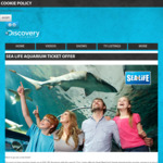 298c1b70a0ea03 2 for 1 Entry at Sealife Melbourne   Sydney   Sunshine Coast Aquariums