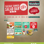 [QLD/NSW/WA] Sizzler - Kids Eat Free or Free Taster (with Purchase of Adult Salad Bar)