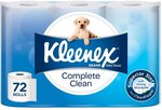 Kleenex Complete Clean Toilet Paper - $35 for 120 Rolls Delivered ($0.162 / 100 Sheets) @ Amazon AU