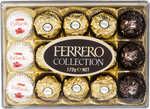 1/2 Price Ferrero Rocher T16 200g | Ferrero Collection T15 172g $6.30 Each & Ferrero Golden Gallery $12 (Save $8) @ Big W