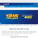 Flights to Asia from $400: Mel-Delhi Return from $600 + More Deals @ Malaysia Airlines