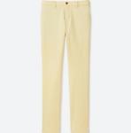 Cream Slim Fit Chinos $19.99 (Was $49.90) JWA Shirt $9.90 (Was $29.90) @ UNIQLO
