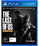 [PS4] The Last of Us: Remastered $19 C&C @ JB Hi-Fi