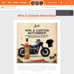 Win a Sailor Jerry Custom Motorbike or 1 of 100 Minor Prizes from William Grant and Sons (Purchase Sailor Jerry from BWS)