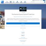 American Express Explorer $395 Fee 50,000 Bonus Member Rewards Points + $400 Travel Credit