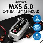CTEK MXS 5.0 8-Step Smart Battery Charger $95.16 Delivered @ KLIKA Trade eBay