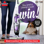 Win 1 of 2 Bissell CrossWave Pet Multi-Surface Cleaners Worth $449 from Stan Cash
