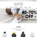 AKTIK Watches $79 (Was $129) and an Additional 15% off Code and Free Shipping