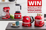 Win a $1,000/$500/$250 KitchenAid Voucher from Mum Central
