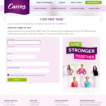 7 Day Free Trial Pass - Women's Gym @ Curves