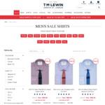 TM Lewin - 5 Men's Sale Shirts for $149 Delivered