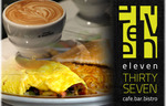 $12 for up to $34 Worth of Food and Drinks for 2 People at Eleven 37 on Exhibition Street, [MEL]