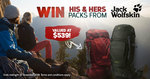 Win His & Hers Jack Wolfskin Backpacks Worth $539 from Wild Earth