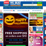 Free Shipping on Orders over $10 @ Chemist Warehouse