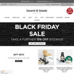 Black Friday Sale: 15% off Sitewide @ Beard and Blade