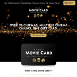 20% off The Movie Card for Use at Palace & IMAX Cinemas