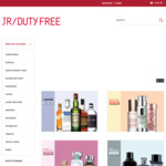20% off Sitewide (Online Purchases Only) @ JR Duty Free