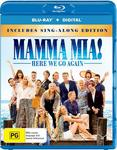 Mamma Mia! Here We Go Again Blu-Ray $12.50 + Delivery (Free with Prime/ $49 Spend) @ Amazon AU