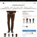 $39 Each: Women's Cotton Coatigan/Jeans, 50% Wool Dress, Men's Cotton Pants & More (Free Shipping over $200 Spend) @ SportScraft
