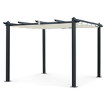 3X3m Semi-Permanent Aluminium Outdoor Gazebo CONDATE Retractable Shade $254.90 Was $439.90 + Free Ship to Metro @ Alice's Garden