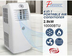 Pursonic Portable Air Conditioner Reverse Cycle Aircon Dehumidifier Fan Cooler $299 Delivered @ GroupTwo Warehouse eBay
