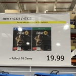 [VIC] [XB1/PS4] Fallout 76 $19.99 @ Costco Docklands (Membership Required)