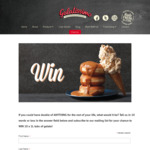 Win 10x 1L Take-Home Packs of Gelato from Gelatissimo