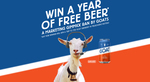 Win 1 of 3 Prizes of 24 Cartons of Mountain Goat Beer Worth $1,560 from Asahi