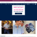 3 Shirts for $99 at Charles Tyrwhitt with Free Shipping