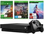 Xbox One X 1TB Console + Battlefield 5 Deluxe Token + Forza Horizon 4 Token + Halo Wars 2 Token Bundle $494 @ Big W eBay