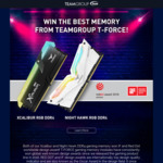 Win a 16GB RAM Kit from TEAMGROUP