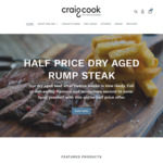 [NSW] 1/2 Price Dry Aged Rump Steak $19.75/1kg  + Delivery (Sydney, Free over $95 Spend) @ Craig Cook The Natural Butcher