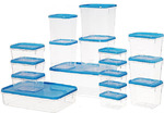 $6.98 17 Piece Various Sizes Food Storage Containers @ Bunnings