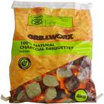 Grillworx Charcoal Briquettes 4kg $2.50 (Was $10) @ Woolworths