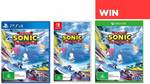 Win 1 of 9 Copies of Team Sonic Racing (3 Switch/3 PS4/3 XB1) from PressStart