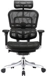 Ergohuman V2 Plus Deluxe Full Mesh Office Chair (Black) $479, Plus Delivery, RRP $799 @ Temple & Webster