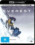 Everest 4K Ultra HD Blu-Ray - $11.99 + Delivery (Free with Prime/ $49 Spend) @ Amazon AU