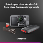 Win a DJI Osmo Action & Samsung Storage Bundle Worth Over $1,000 from Scan
