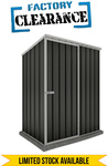 Absco Sheds 1.52m × 0.78m × 1.95m* Reverse Skillion Shed (in Monument) $149 + Delivery @ Simply Sheds