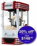 EuroChef Popcorn Machine Retro $148 Delivered @ Mytopia eBay