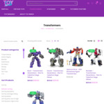 Transformers: War on Cybertron- Siege Figures $25.20 + Delivery (RRP $35) @ Toy Nerds