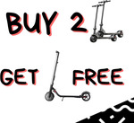 Buy 2 Mercane Dual 13.2 E-Scooters $1239 and Get Segway ES2 for Free (Save $920) @ Dubitz